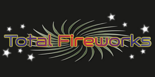 Total Fireworks Logo with starts