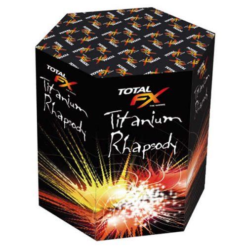 Titanium Rhapsody barrage