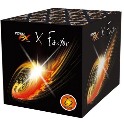 X Fxctor barrage