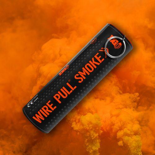 Orange Smoke Grenade