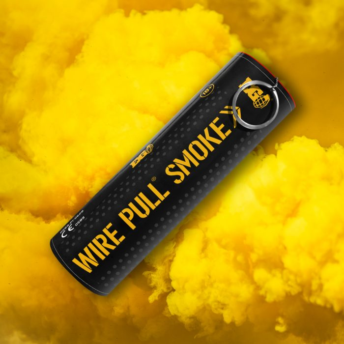 Yellow Smoke Grenade