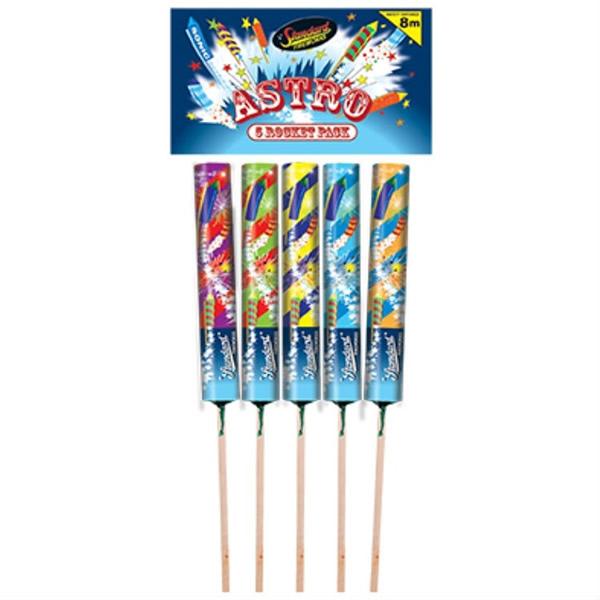 astro rockets